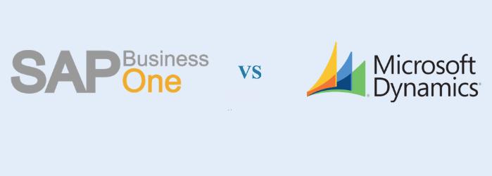 SAP Business One vs Microsoft Dynamics