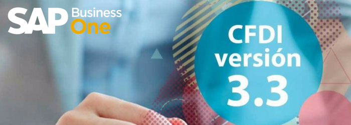 SAP Business One: facturación electrónica y versión 3.3