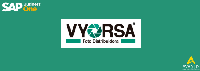 Caso de éxito SAP Business One Vyorsa Foto Distribuidora