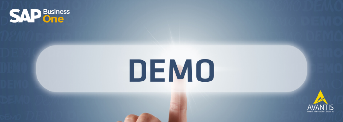 SAP Business One - Demo Gratis con Avantis