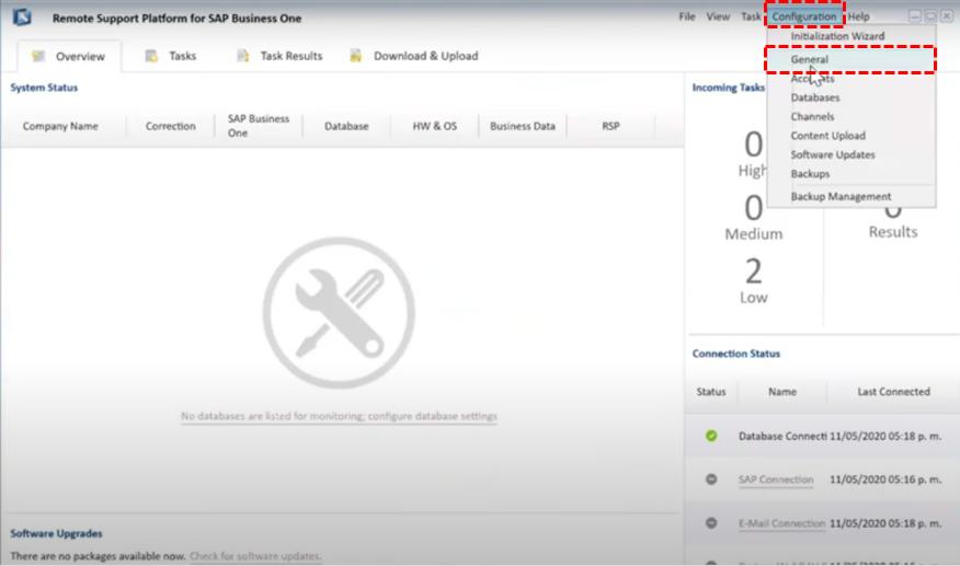 ¿Cómo configurar el RSP de SAP Business One para respaldos automáticos?